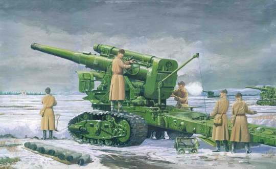 Trumpeter - Russian Army B-4 M1931 203mm Howitzer
