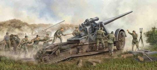 Trumpeter - German 17cm Kanone 18 Heavy Gun