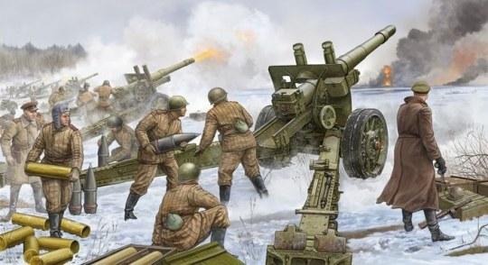 Trumpeter - Soviet 152mm Howitzer-gun M1937 (ML-20)