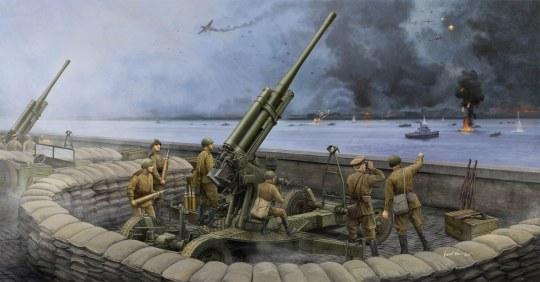Trumpeter - Soviet 52-K 85mm Air Defense Gun M1943