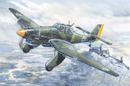Trumpeter - Junkers Ju-87A Stuka