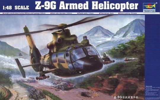 Trumpeter - Z-9 G Bewaffneter Helicopter