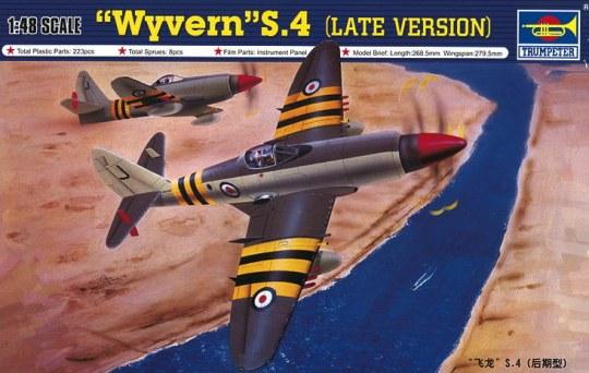 Trumpeter - Westland Wyvern S. 4 Späte Version
