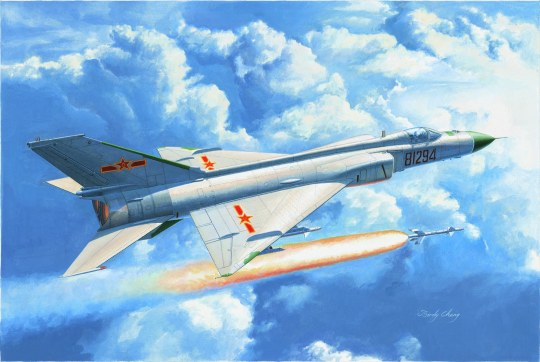 Trumpeter - Chinese J-8IID fighter