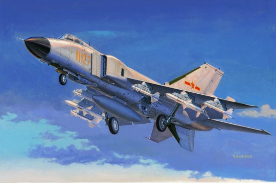 Trumpeter - Chinese J-8IIF fighter