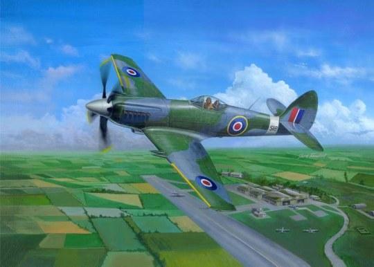 Trumpeter - Supermarine Spiteful F.MK.14 Fighter