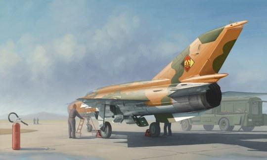 Trumpeter - MiG-21MF Fighter