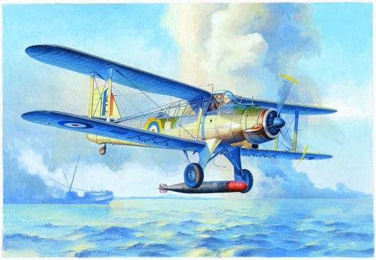 Trumpeter - Fairey Albacore Torpedo Bomber