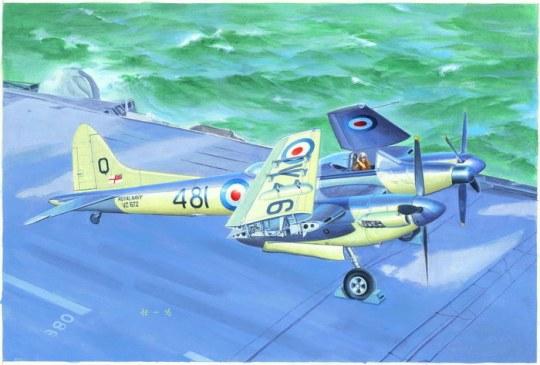 Trumpeter - De Havilland Sea Hornet Nf.21