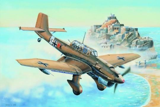 Trumpeter - Junkers Ju-87R Stuka