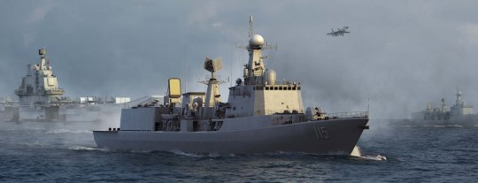Trumpeter - PLA Navy Type 051C Air-Defense DDG