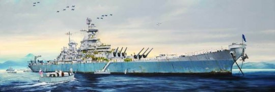 Trumpeter - USS Missouri BB-63