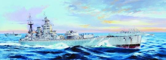 Trumpeter - HMS Nelson 1944