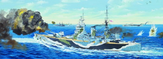 Trumpeter - HMS Rodney
