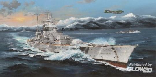 Trumpeter - German Scharnhorst Battleship