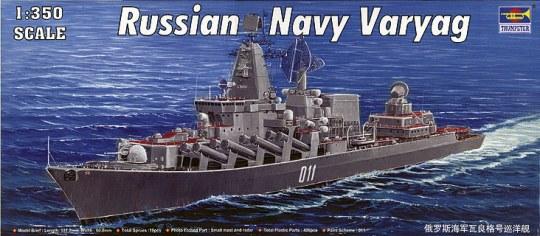 Trumpeter - Varyag Russian Navy