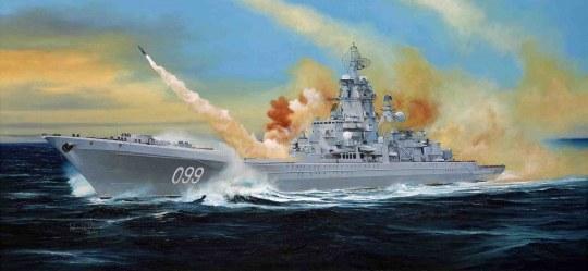 Trumpeter - Russian battle cruiser Pyotr Velikiy Ex-Yuki Andropov