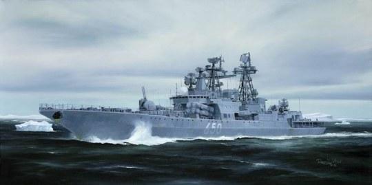 Trumpeter - Admiral Chabanenko Udaloy II Class Destroyer
