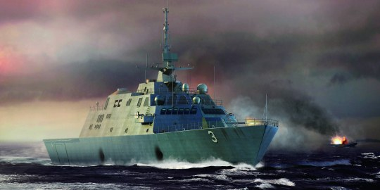 Trumpeter - USS Forth Worth (LCS-3)