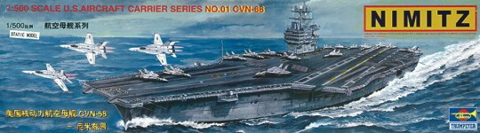 Trumpeter - Flugzeugträger USS Nimitz CVN 68