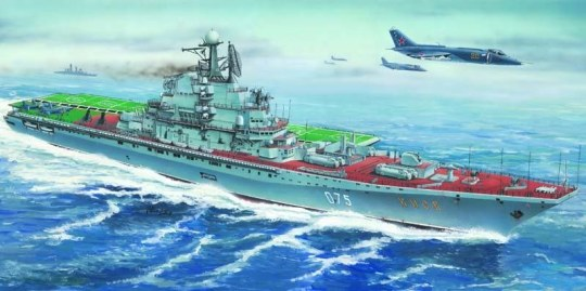 Trumpeter - Flugzeugträger USSR Kiev/ Minsk