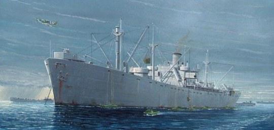 Trumpeter - S.S. Jeremiah O'Brien Liberty Ship