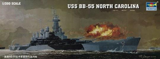 Trumpeter - Schlachtschiff USS North Carolina BB-55