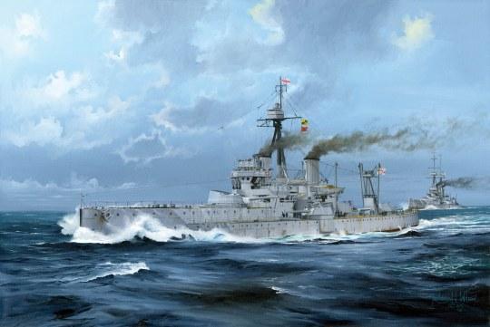 Trumpeter - HMS Dreadnought 1918
