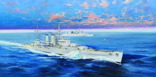 Trumpeter - HMS Exeter