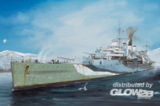 Trumpeter - HMS Kent