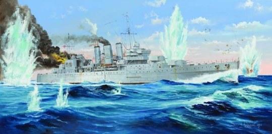 Trumpeter - HMS Cornwall