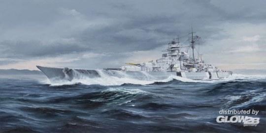 Trumpeter - German Bismarck Battleship
