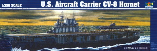 Trumpeter - Flugzeugträger USS Hornet CV 8