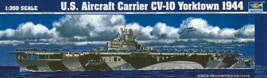 Trumpeter - Flugzeugträger USS Yorktown CV-10 1944