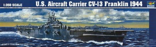 Trumpeter - Flugzeugträger USS CV-13 Franklin