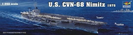Trumpeter - Flugzeugträger USS Nimitz CVN-68 1975