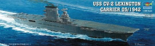 Trumpeter - Flugzeugträger USS Lexington CV 2