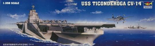 Trumpeter - Flugzeugträger USS Ticonderoga CV-14