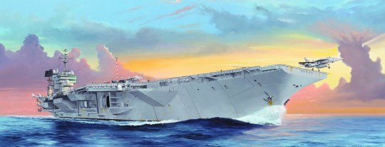 Trumpeter - USS Kitty Hawk CV-63