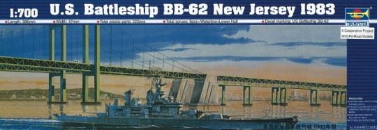 Trumpeter - Schlachtschiff USS New Jersey BB-62 1983