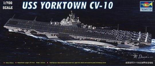 Trumpeter - Flugzeugträger USS Yorktown CV-10