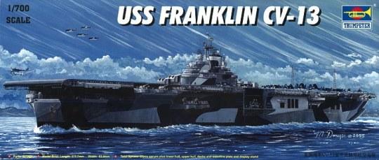 Trumpeter - Flugzeugträger USS Franklin CV-13