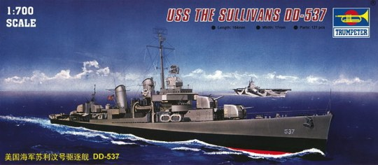 Trumpeter - USS The Sullivans DD-537
