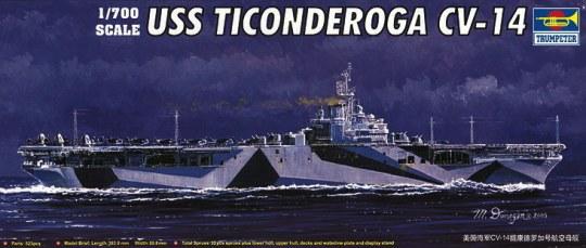 Trumpeter - USS Ticonderoga CV-14