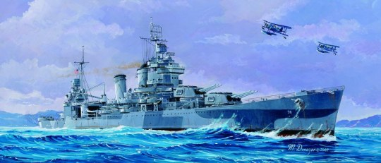 Trumpeter - USS San Francisco CA-38 1944