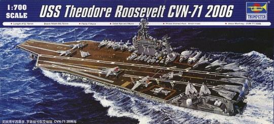 Trumpeter - USS Theodore Roosevelt CVN-71 2006