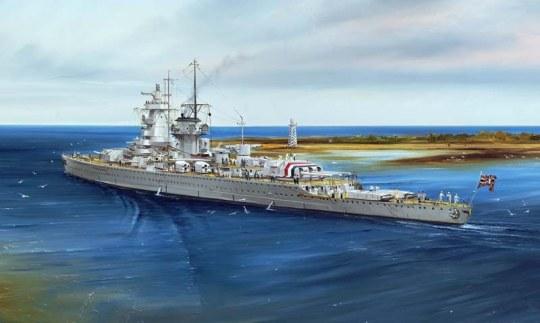 Trumpeter - Ger. Battleship Admiral Graf Spee 1937