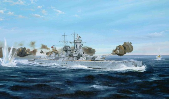 Trumpeter - Ger.Pocket Battleship Admiral G.Spee1930