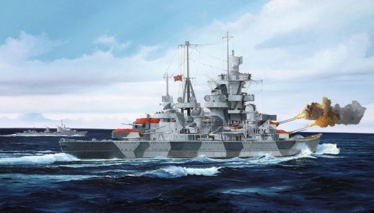 Trumpeter - German Cruiser Admiral Hipper 1941