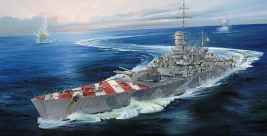 Trumpeter - Italian Navy Battleship RN Roma 1943